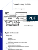 Overview of Model Testing Facilities