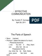 Franklin Gumapon_Effective Communication