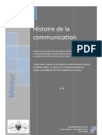 11920626 Histoire de La Comunication