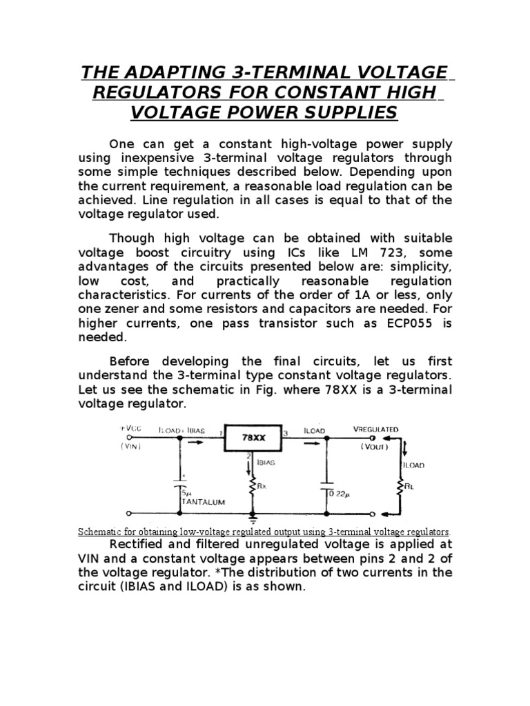 7805 Capacitor Electronic Circuits Circuit Schematic Diagram Low Voltage Power Supply