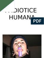 A Idiotice Humana