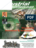Indo-MIM feature in Industrial Business Mart Magazine (January 2011)