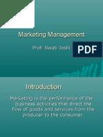 M.B.a Marketing Management