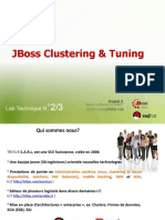 JBoss clustering et tuning (lab 2/3)
