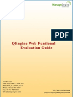 Web Functional Evaluation Guide
