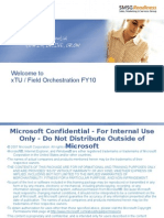 xTU_Field Orchestration FY10 Participant Guide