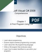 Chapter 1 - A First Program