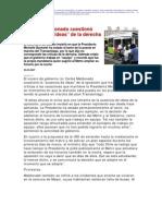 2 22  La Nación - Ministro Maldonado cuestionó ausencia de ideas de la derecha
