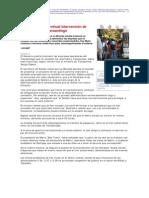 3 1    La Nación - Gobierno anuncia virtual intervención de operadores del Transantiago