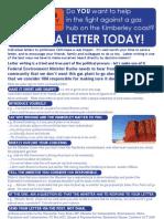 2011.04.29 Letter Writing Flier
