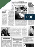 8 14  La Tercera - Transantiago-Danilo Núñez acusa engaño en puesta en marcha