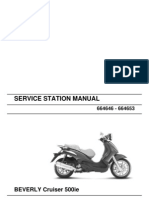 Cruiser 500ie Workshop Manual