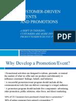 MKTG Customer Driven Promotions