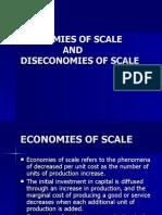 Economics of Scale