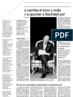 11 14   La Tercera - Lagos cambia el tono y evita volver a apuntar a Bachelet