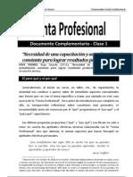 Venta Profesional (Documento Complementario - Clase 1)