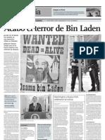 Acabó el terror de Bin Laden
