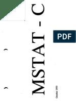 MSTAT-C Manual Part1