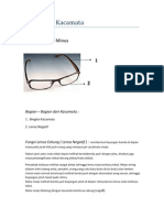 Alat Optik Kacamata