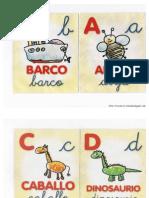 Abecedario Dibujos Maestra Infantil