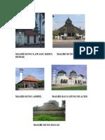 Masjid Kuno Lawang Kidul Masjid Kuno Agung Demak