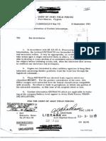 Korean War Dissemination of Combat Info 10 Sept 53