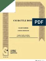 Korean War Chosin Reservoir CSI Battle Book
