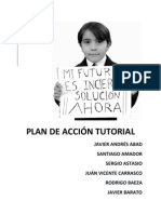 Plan de Accion Tutorial