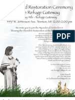 Refuge Gateway Blessing Ceremony_Info Flyer