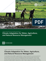 Climate Adaptation for Water, Agriculture and Natural Resource Management