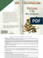 Marivaux - L'Ile Des Esclaves