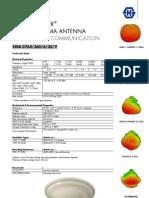 H&S Sencity Optima Antenna Data Sheet