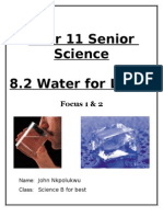 Science Booklet