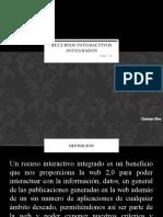 Recursos interactivos integrados