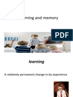Chapter 3 Learning and Memory 2003