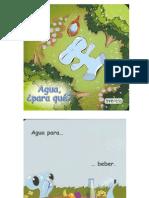 Agua - Para qué (Libro infantil)