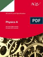 Physics Formula Sheet