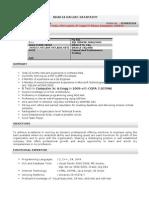 Bhakta Resume