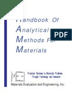 Handbook Of Analytical Methods For Materials