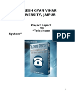 Project Report on Telephone Directory System