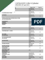 Vag Parts Catalogue - Apr 2011 v2