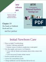 Copy of CH19 p. 463 - 468 Initial Care of Newborn