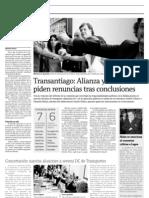 12 14  La Tercera -  Alianza y colorines DC piden renuncias tras conclusiones