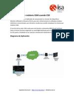 Comunicar Modems GSM Por CSD