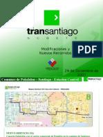 12 30  El Mercurio Online - Nuevos recorridos anunciados por Ministro Cortázar