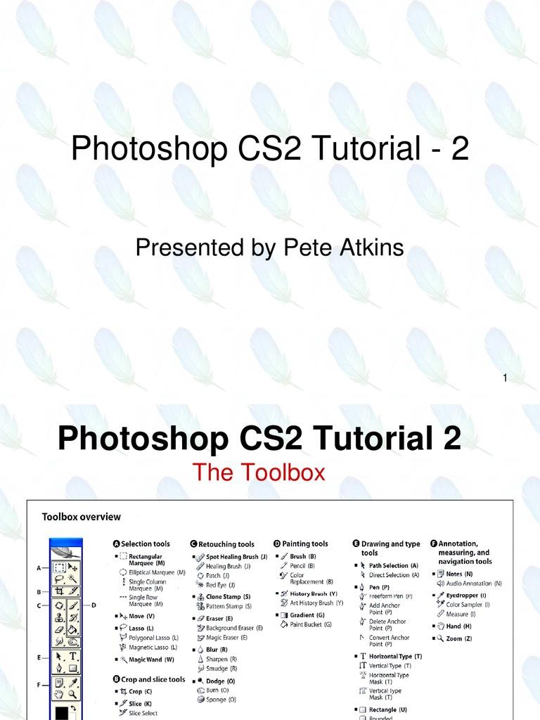 Photoshop cs2 tutorial 2 pdf adobe photoshop computer graphics baditri Choice Image