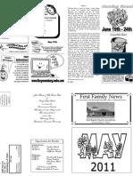 FBC Newsletter May 2011