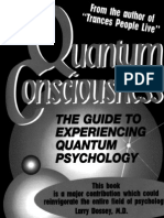 Quantum Consciousness The Guide to Experiencing Quantum Psychology - Stephen Wolinsky