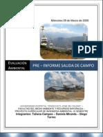 Pre Informe Salida de Campo EAI