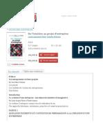 Les Éditions Transcontinental - | Démarrage d'entreprise | De l'intuition au projet d'entreprise